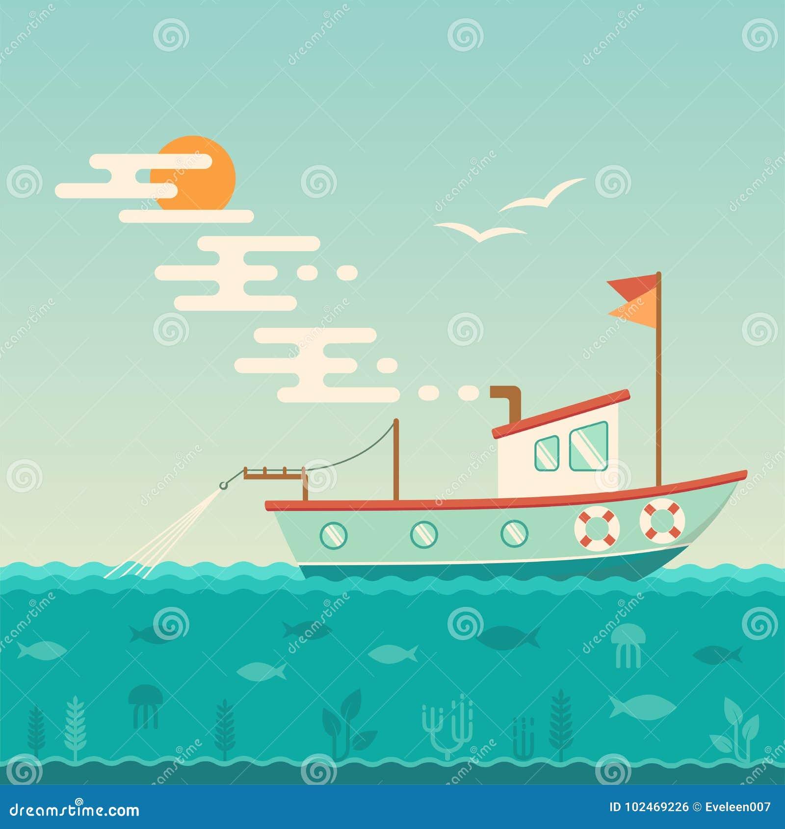 Nave commerciale, peschereccio
