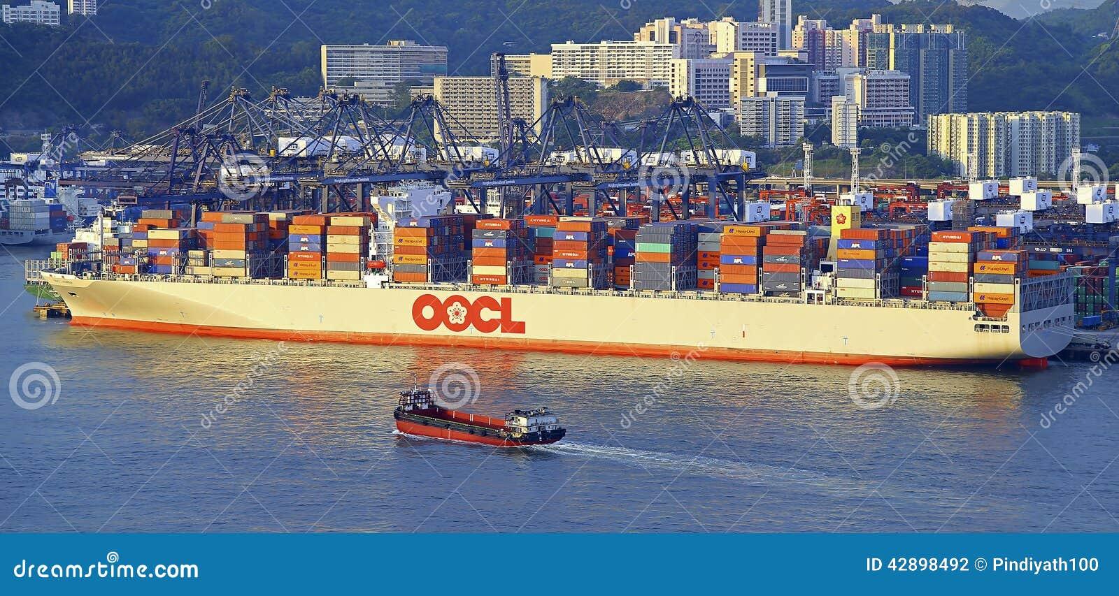 Plafoniere Da Nave : Nave da carico del contenitore di oocl fotografia editoriale