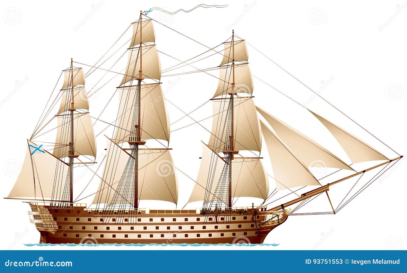 Nave de la línea, acorazado del buque de guerra