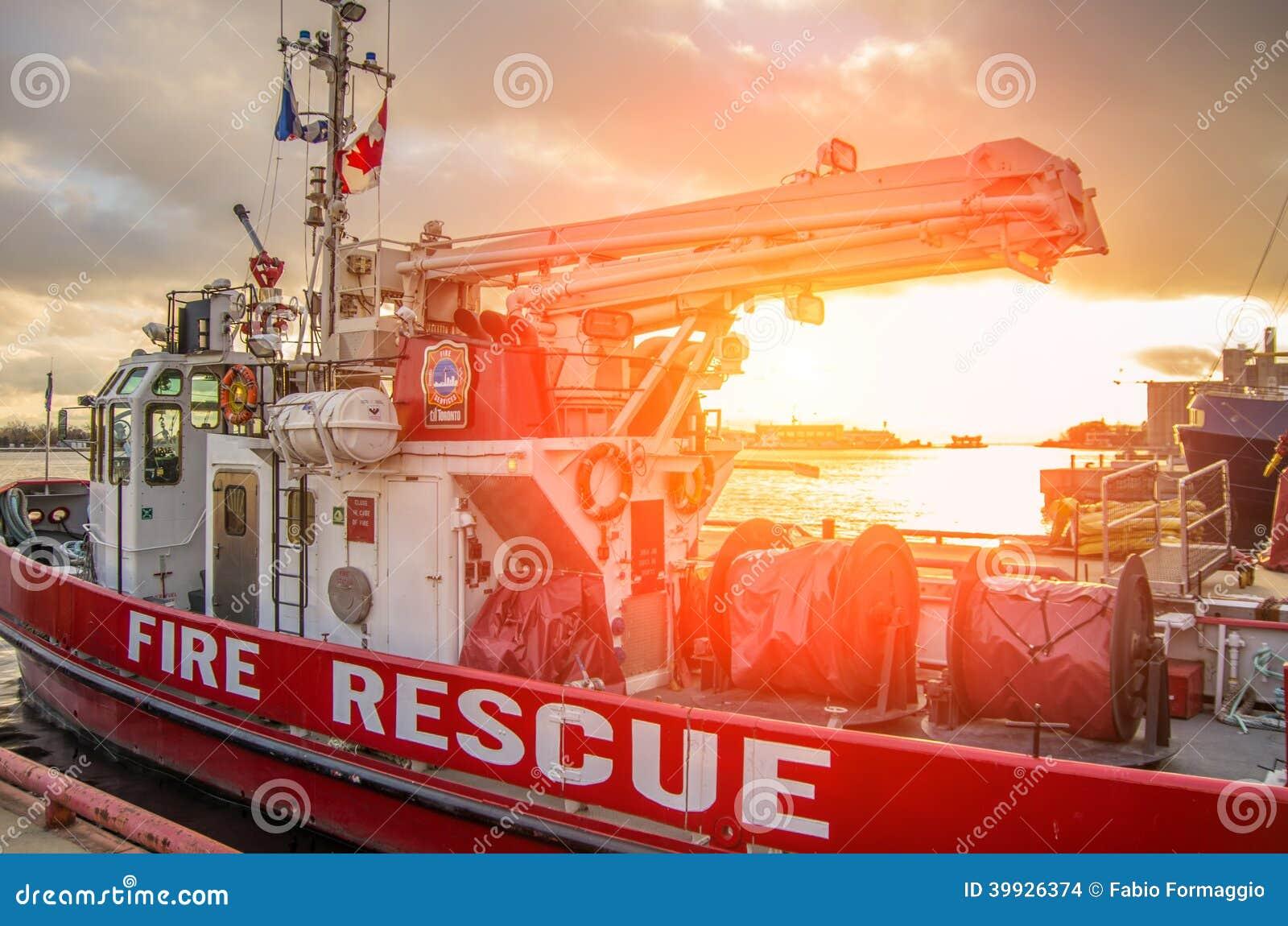 Nave del rescate del fuego