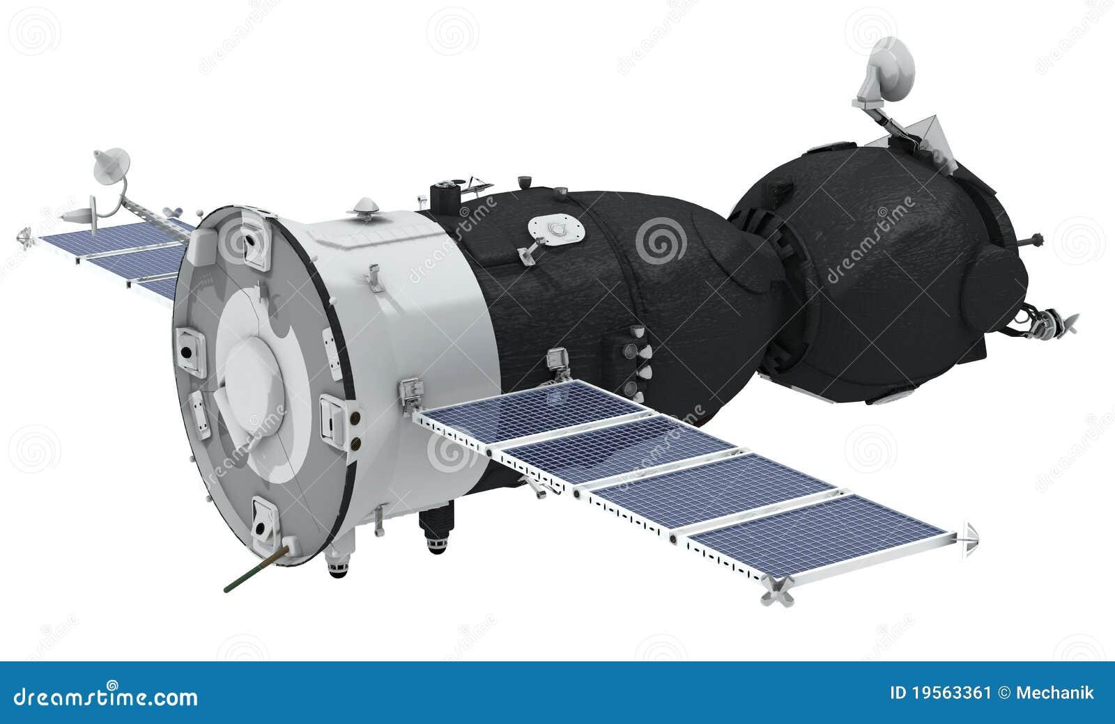 Nave espacial isolada