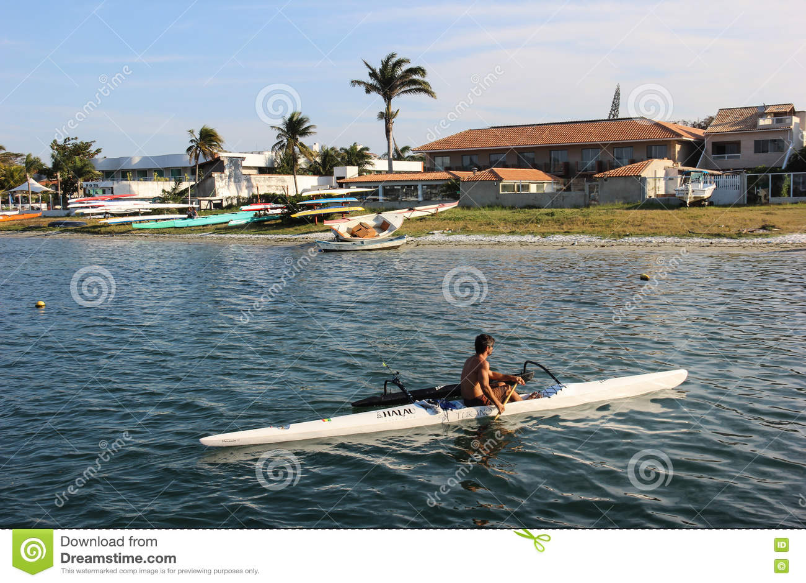 Navegação na canoa havaiana