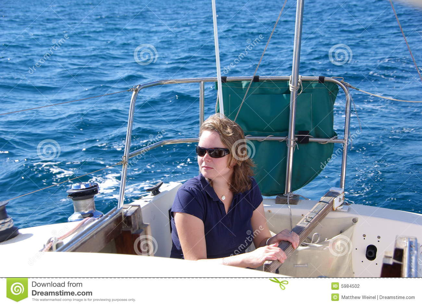 Navegación de la mujer