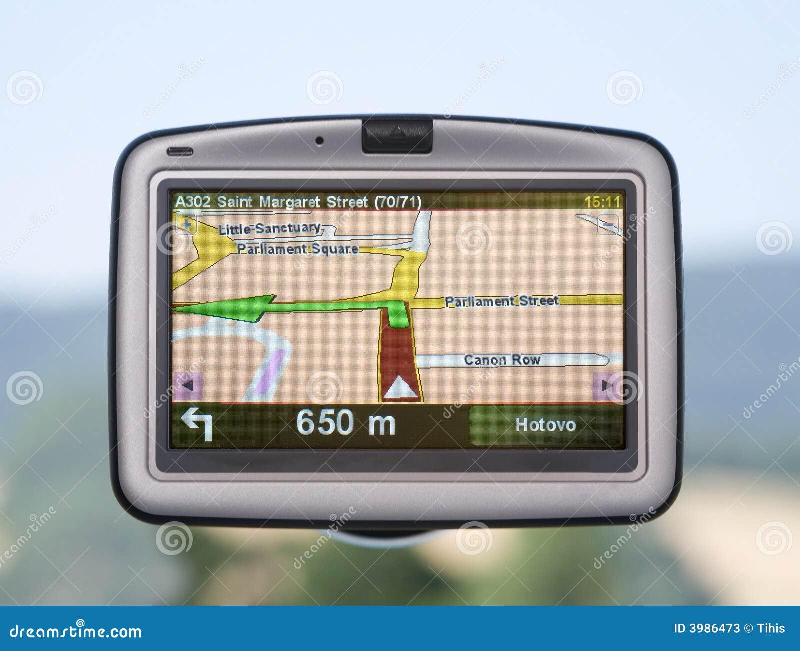 Navegador del GPS