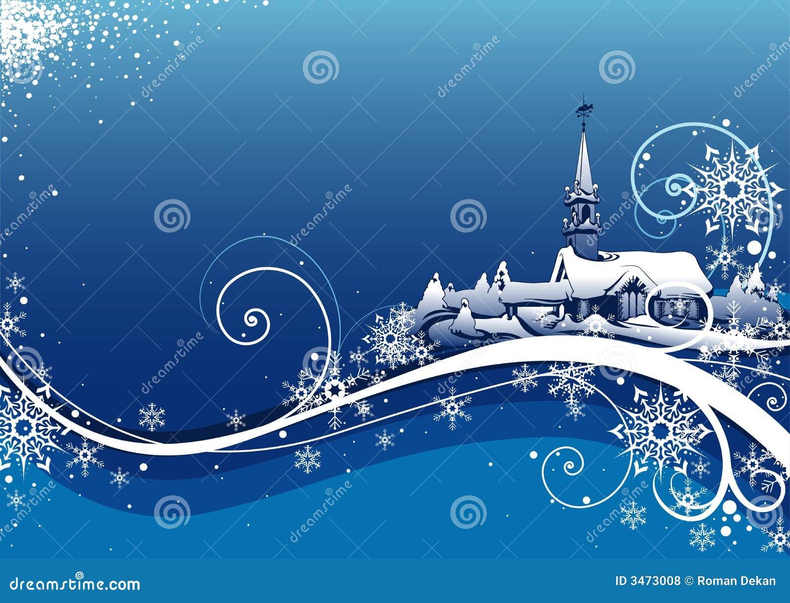 Navidad abstracta Bckg del azul