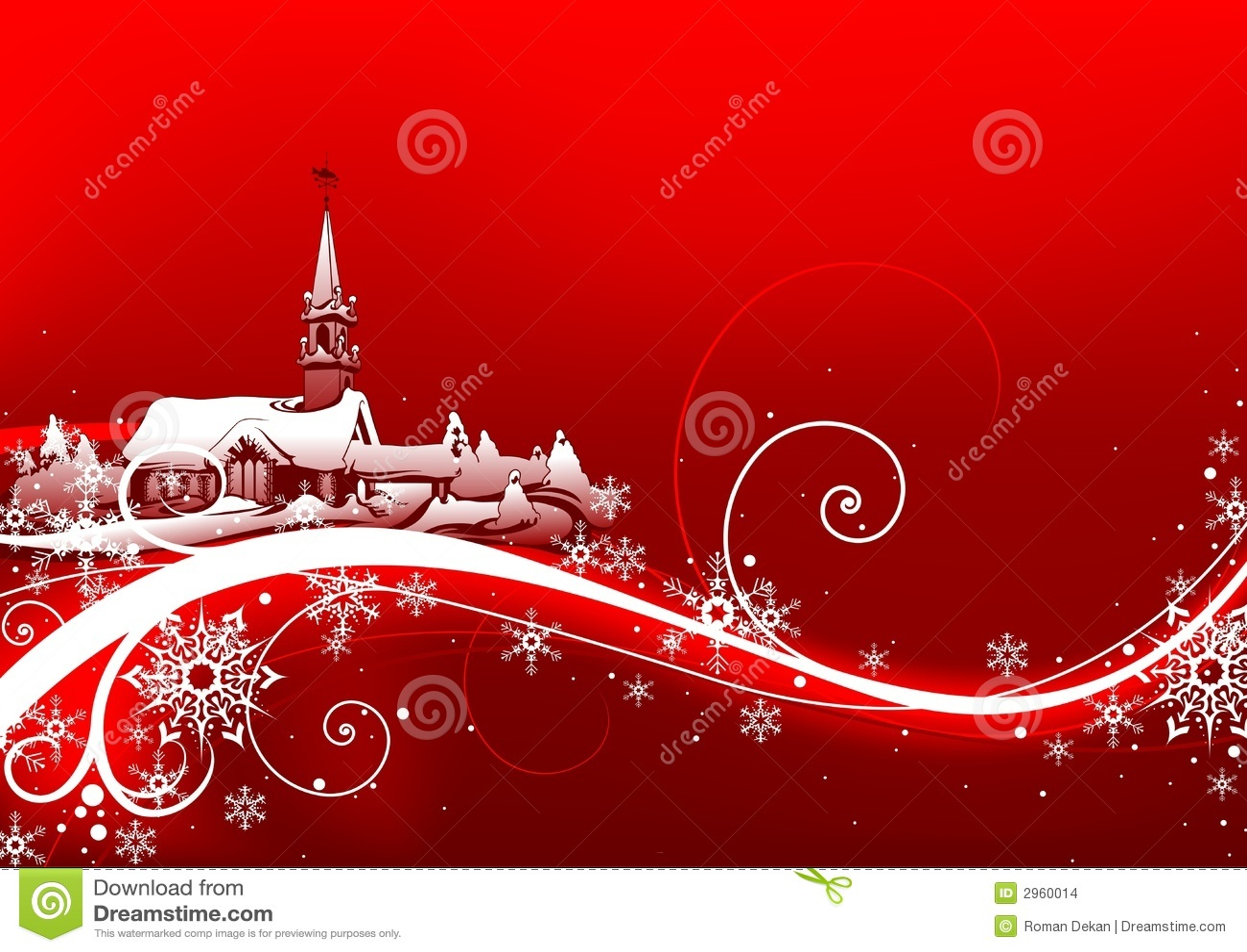 Navidad abstracta del rojo
