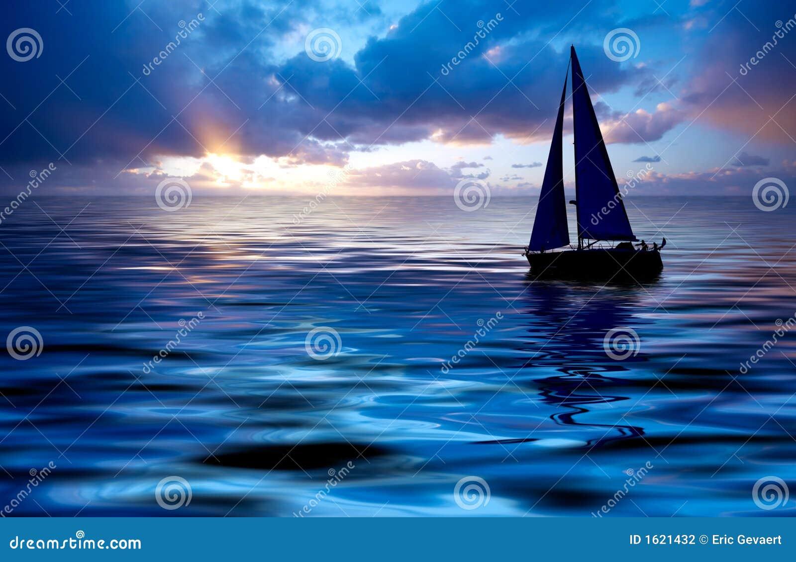 Navigação e por do sol