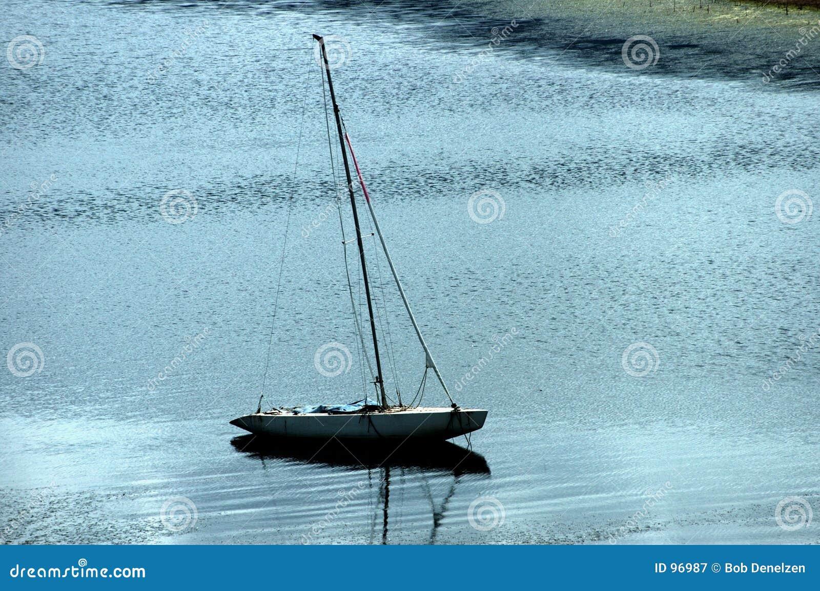 Navigação no lago