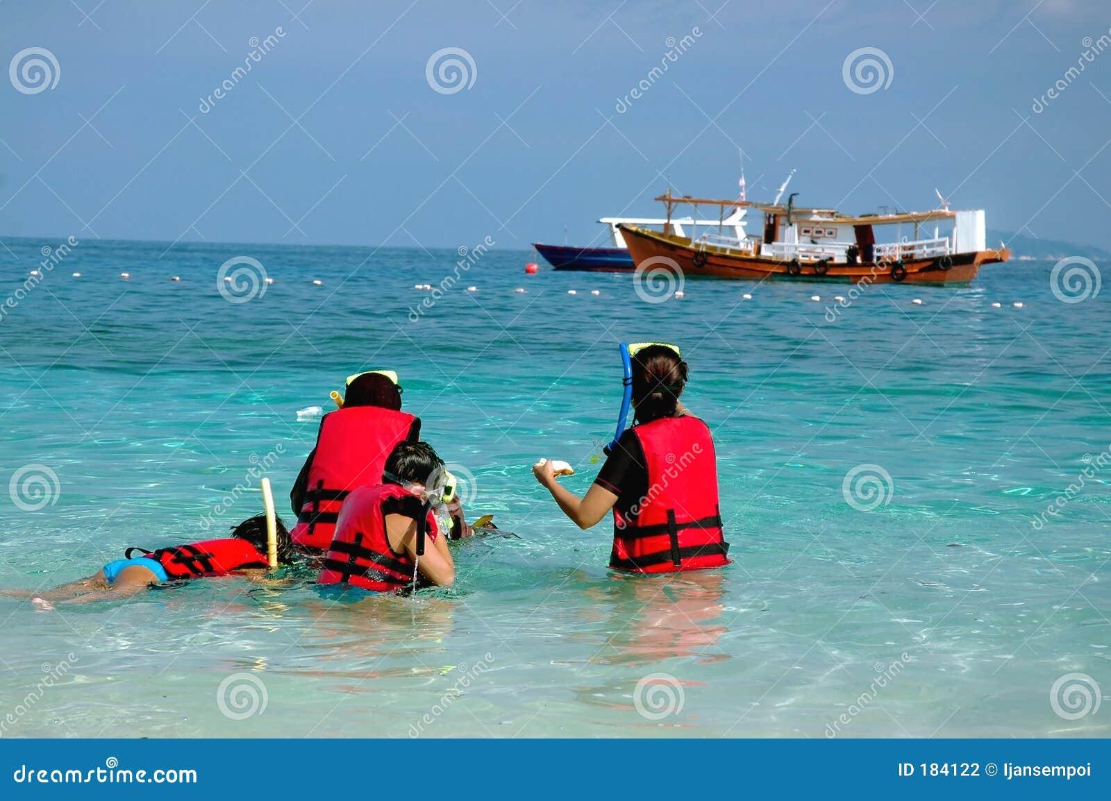 Navigare usando una presa d aria