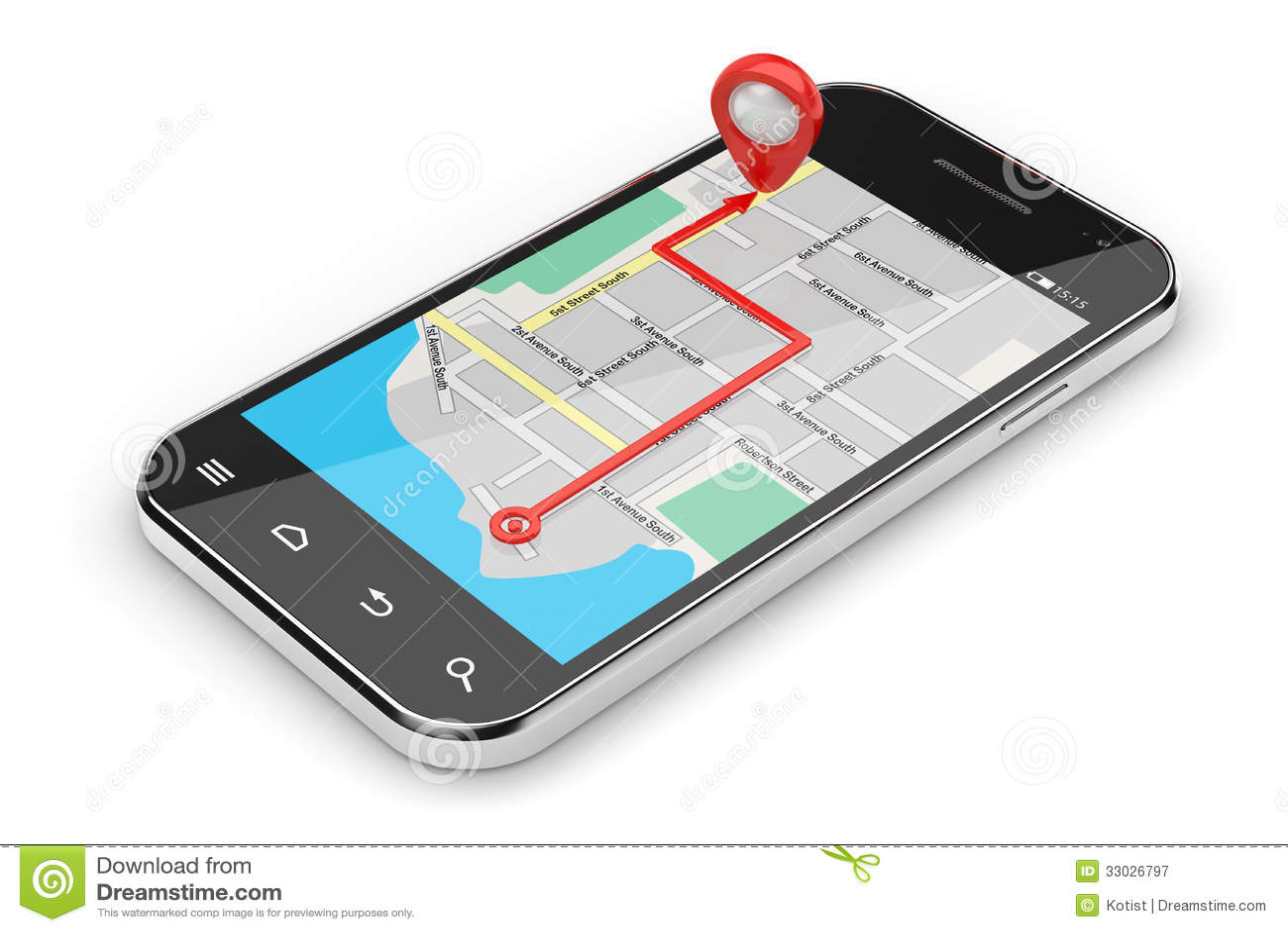 Navigation concept stock illustration. Illustration of ...