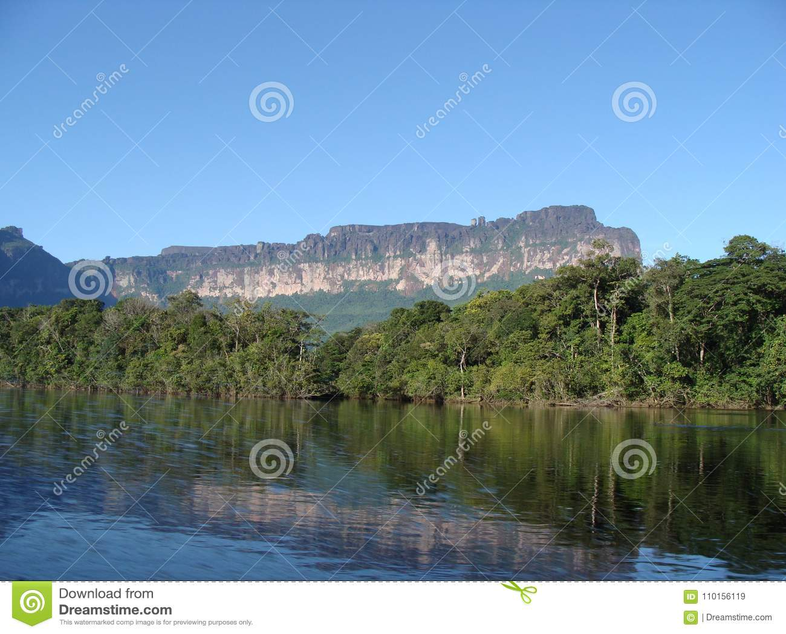 Navigation de la rivière en Amazone vénézuélienne