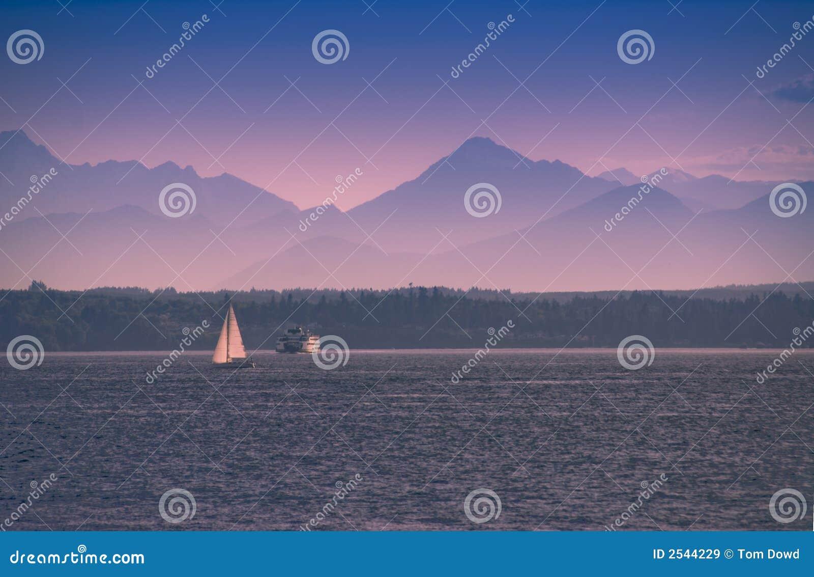 Navigation en un bac de Seattle