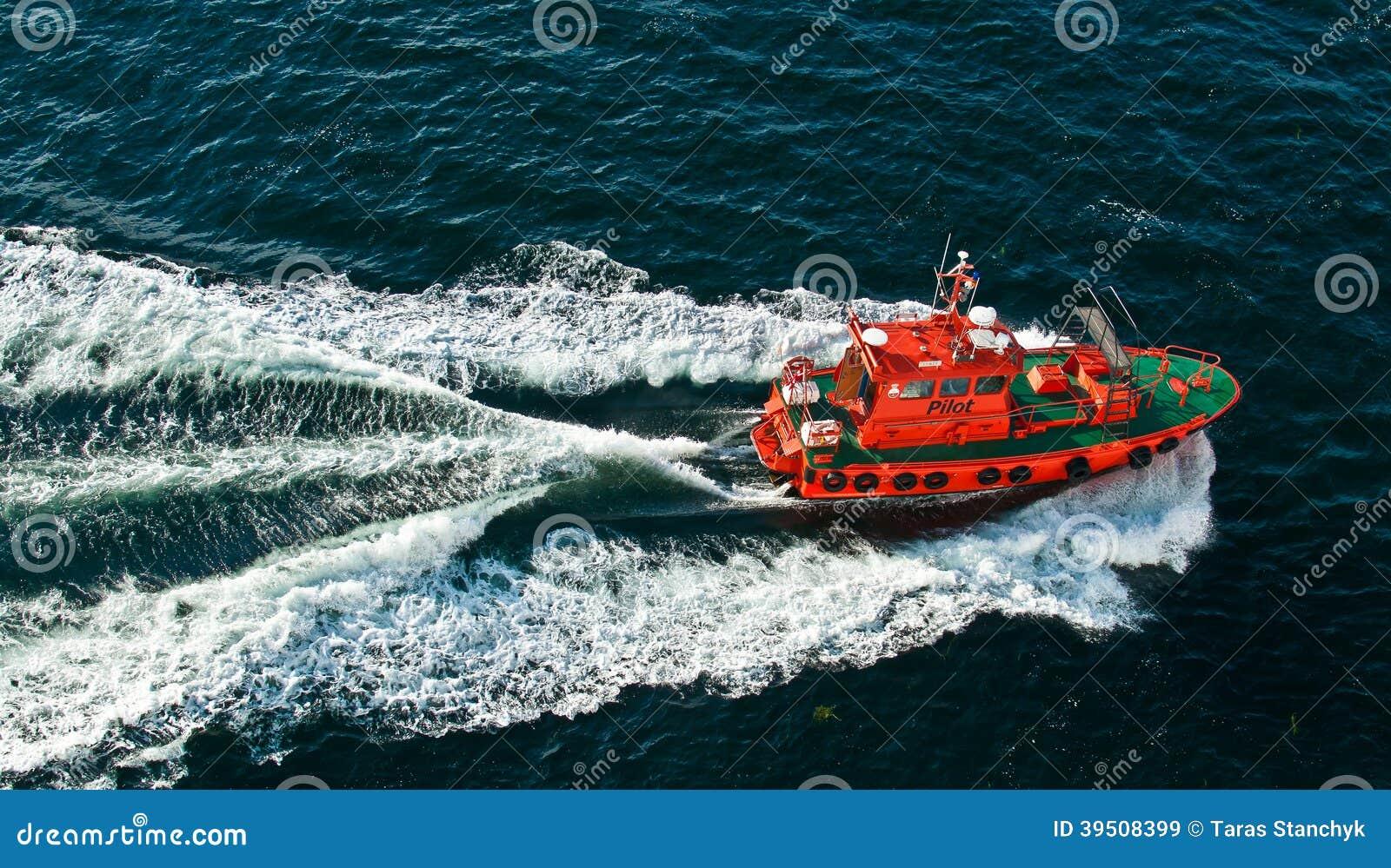 Navigation pilot ship