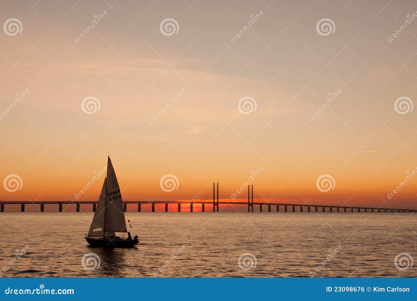 Navigazione di tramonto