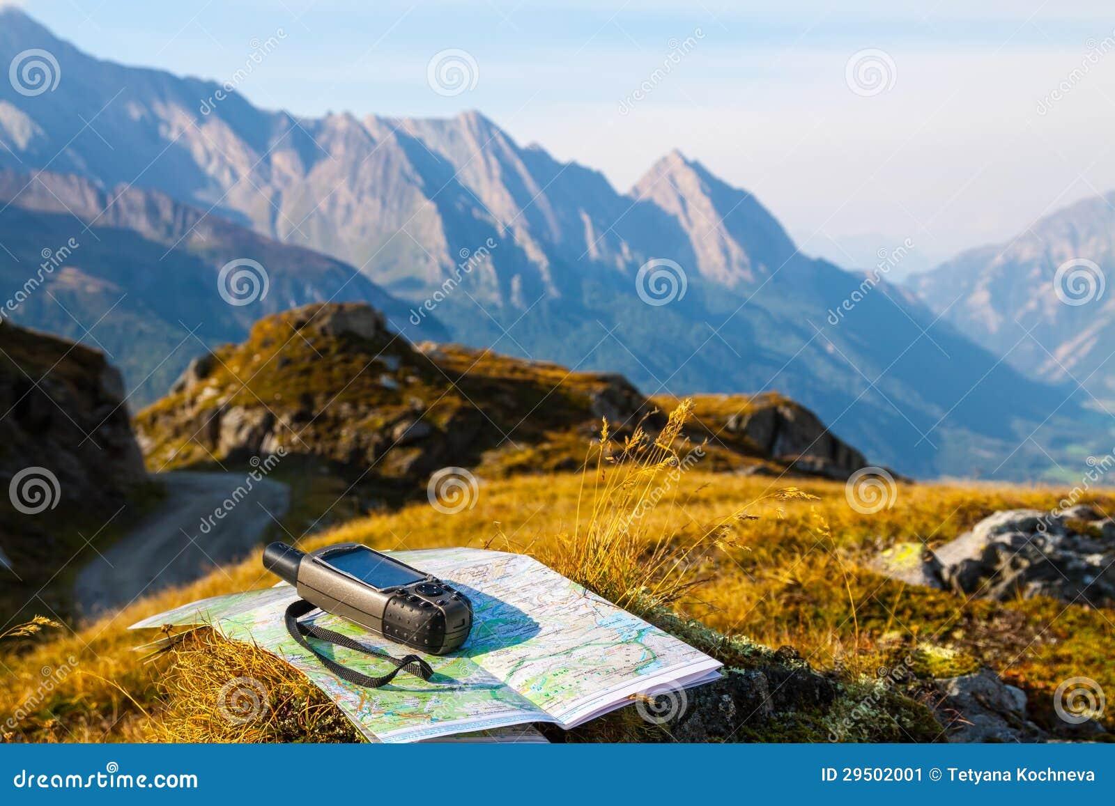 Navigeer met GPS in de berg