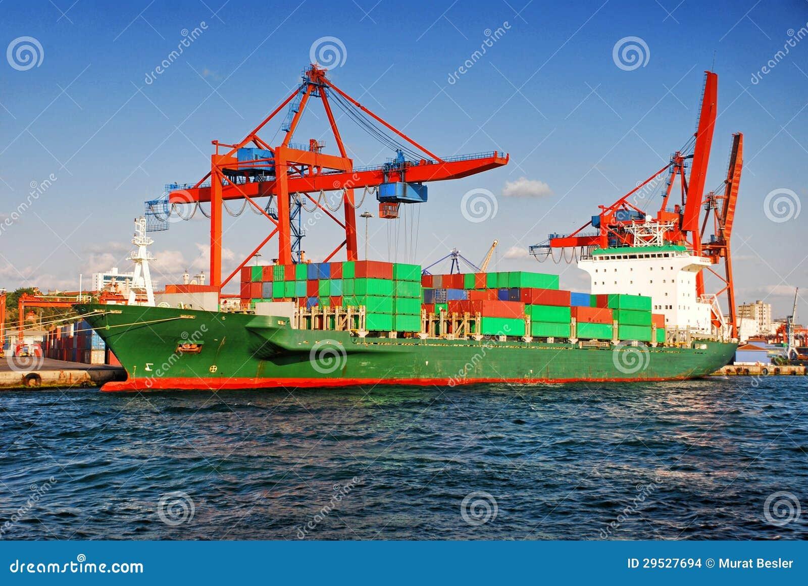 Navio de recipiente