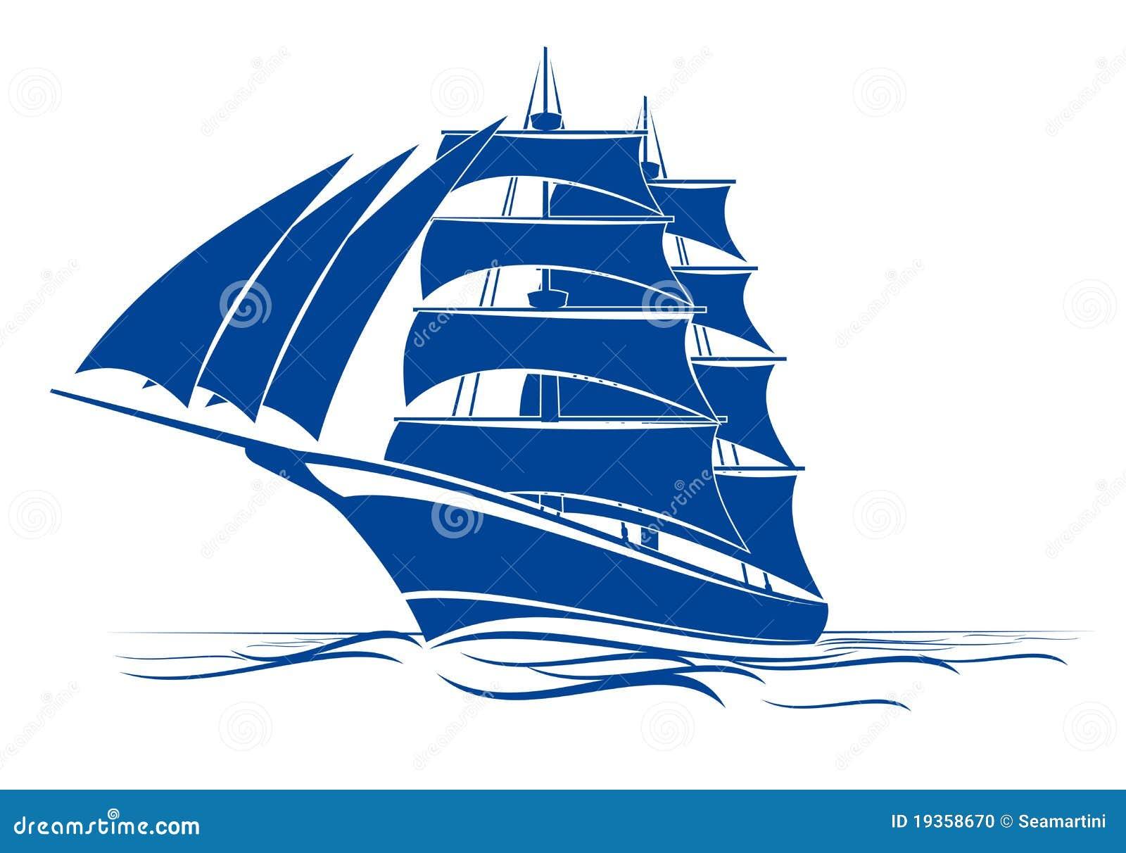Navio do Brigantine
