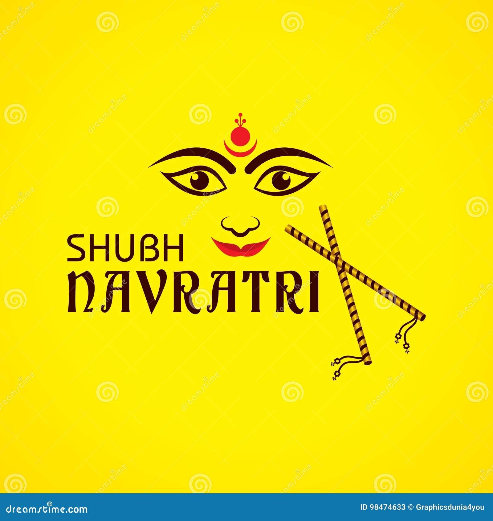 Navratri utsav greeting card stock vector illustration of diwali navratri utsav greeting card diwali holy kristyandbryce Choice Image