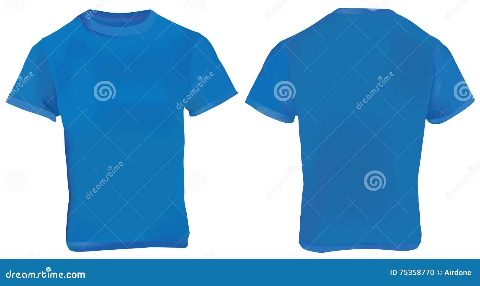 Navy Blue Shirt Template stock vector. Illustration of ...