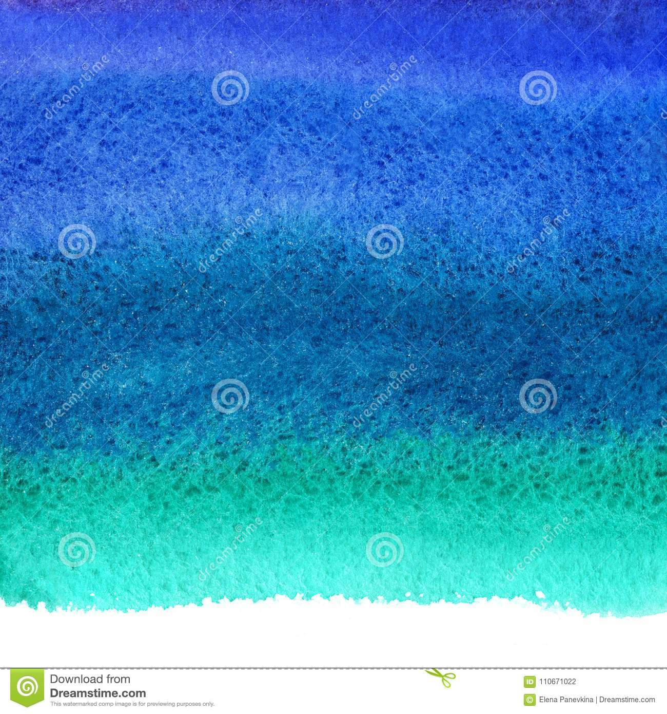 Navy blue watercolor stains background, uneven edge