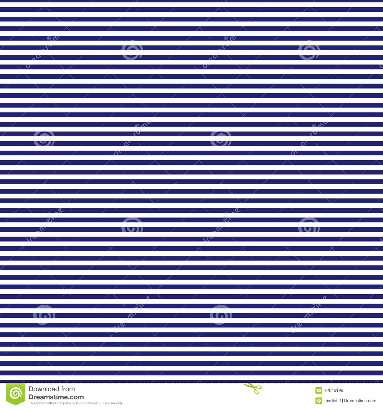 84ac243d52a Navy Blue And White Horizontal Stripes Seamless Pattern Stock Vector ...