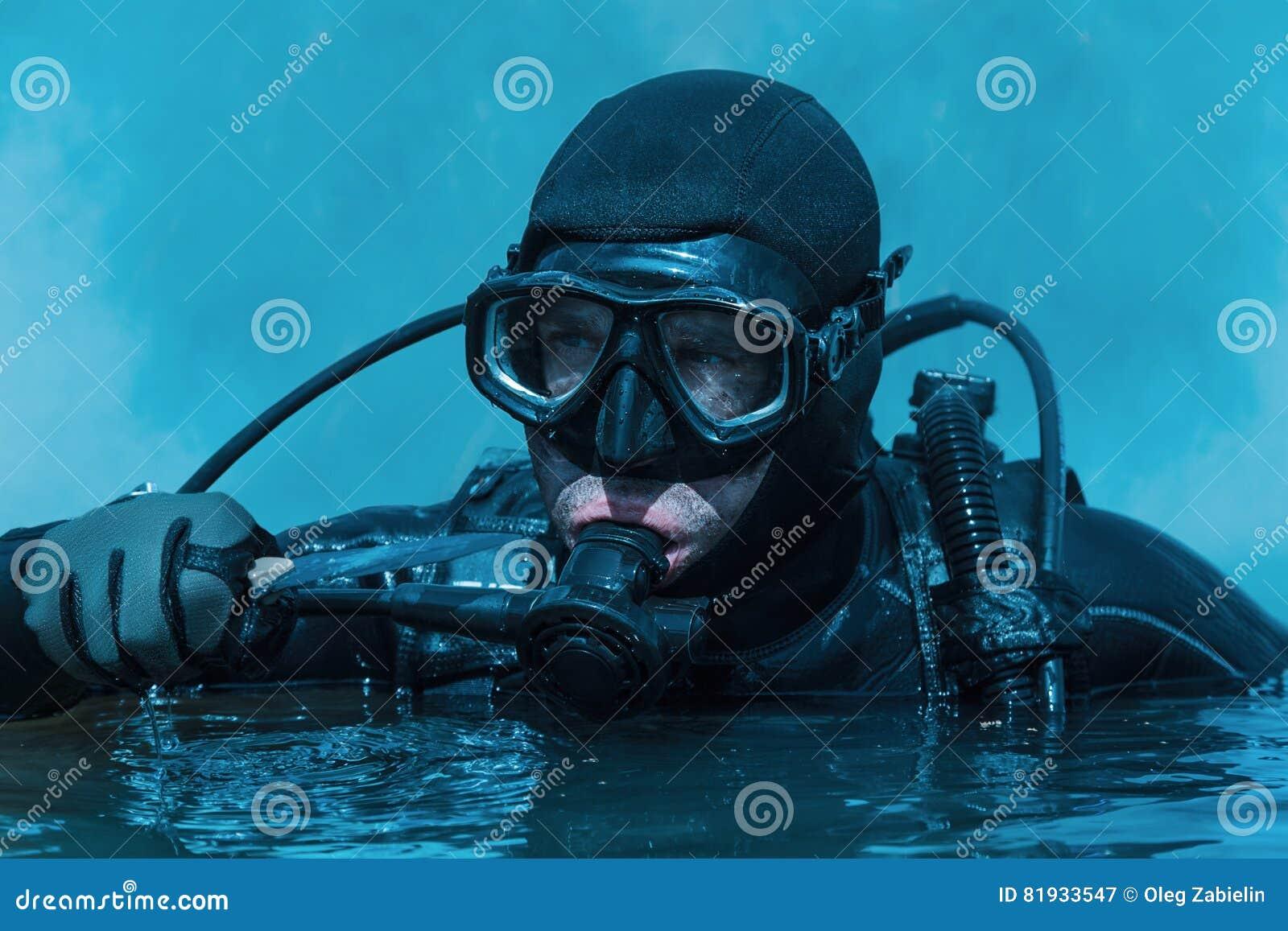 Navy seal frogman stock image image of helmet maritime 81933547 - Navy seal dive gear ...