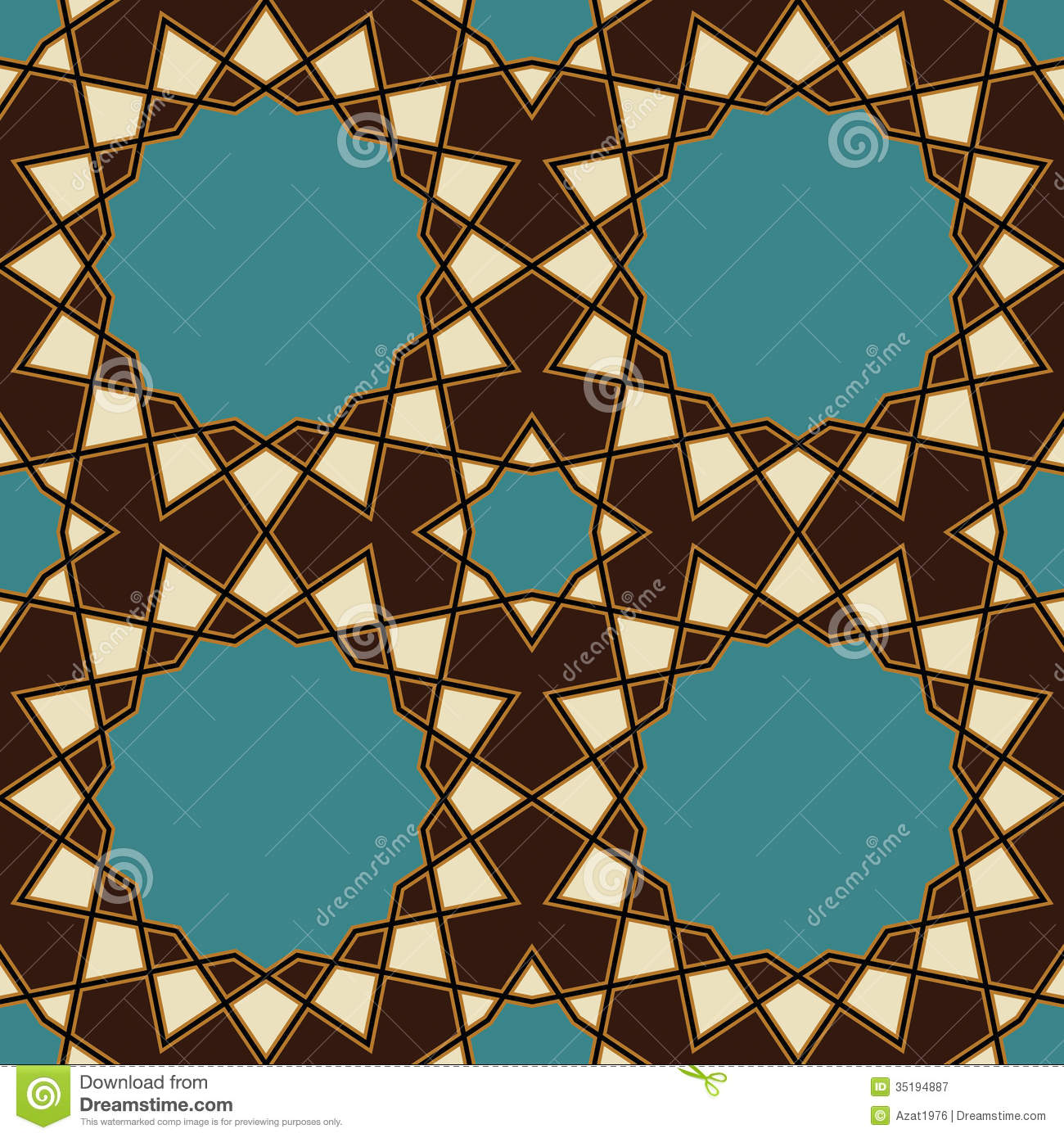 Nawa Seamless Pattern One