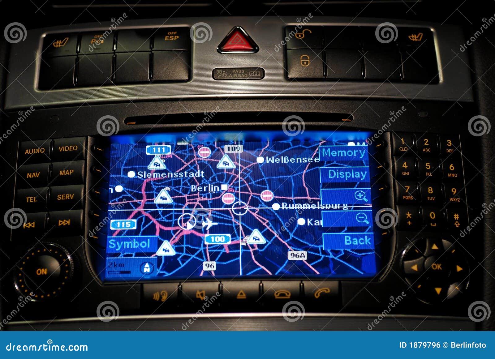 Nawigacja gps samochodów