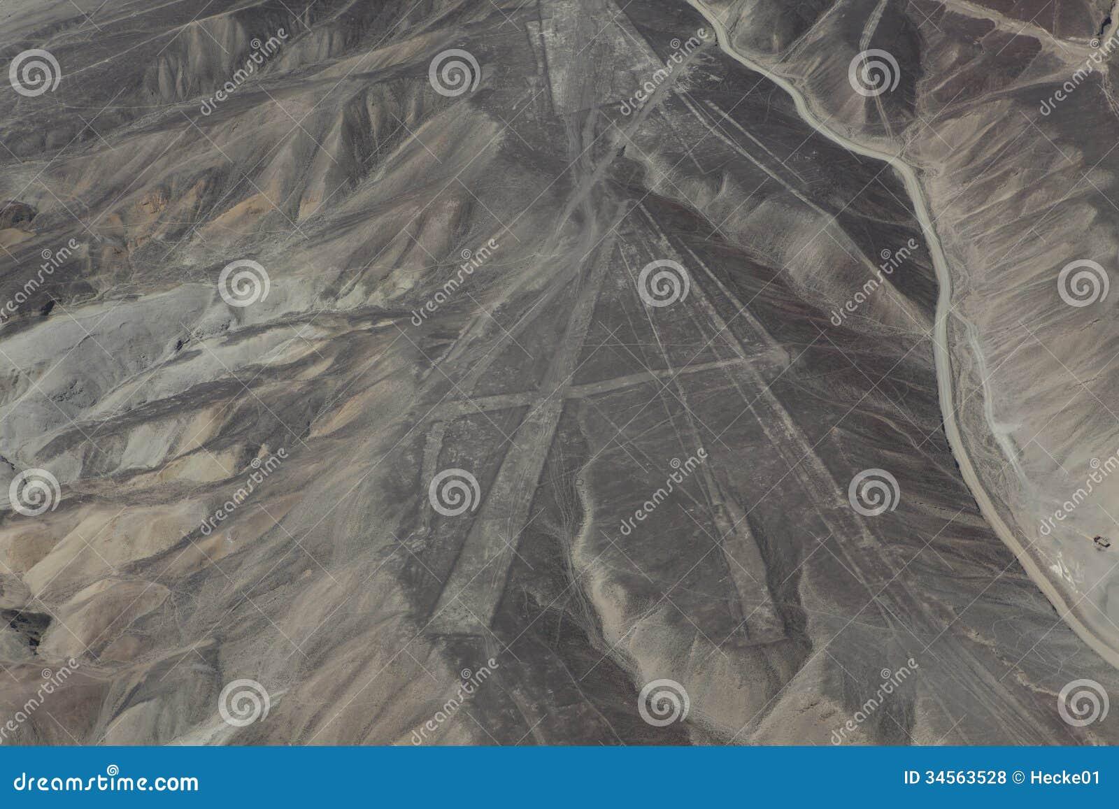 The Nazca Lines in Peru