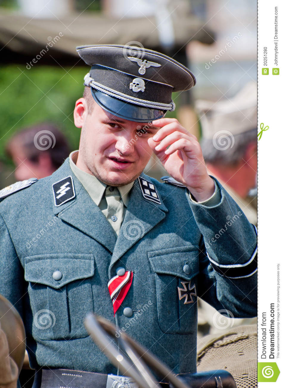 nazi soldier editorial image image of male hitler