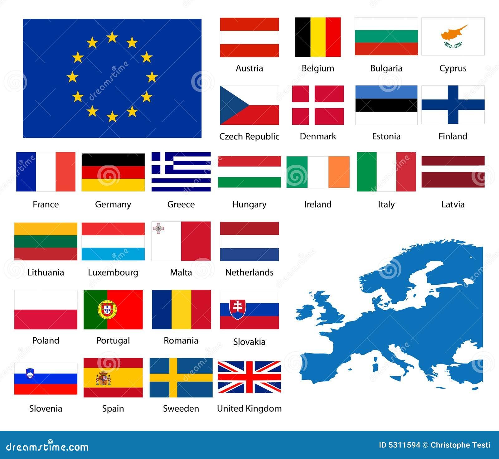 Download Nazioni europee illustrazione vettoriale. Illustrazione di illustrazione - 5311594