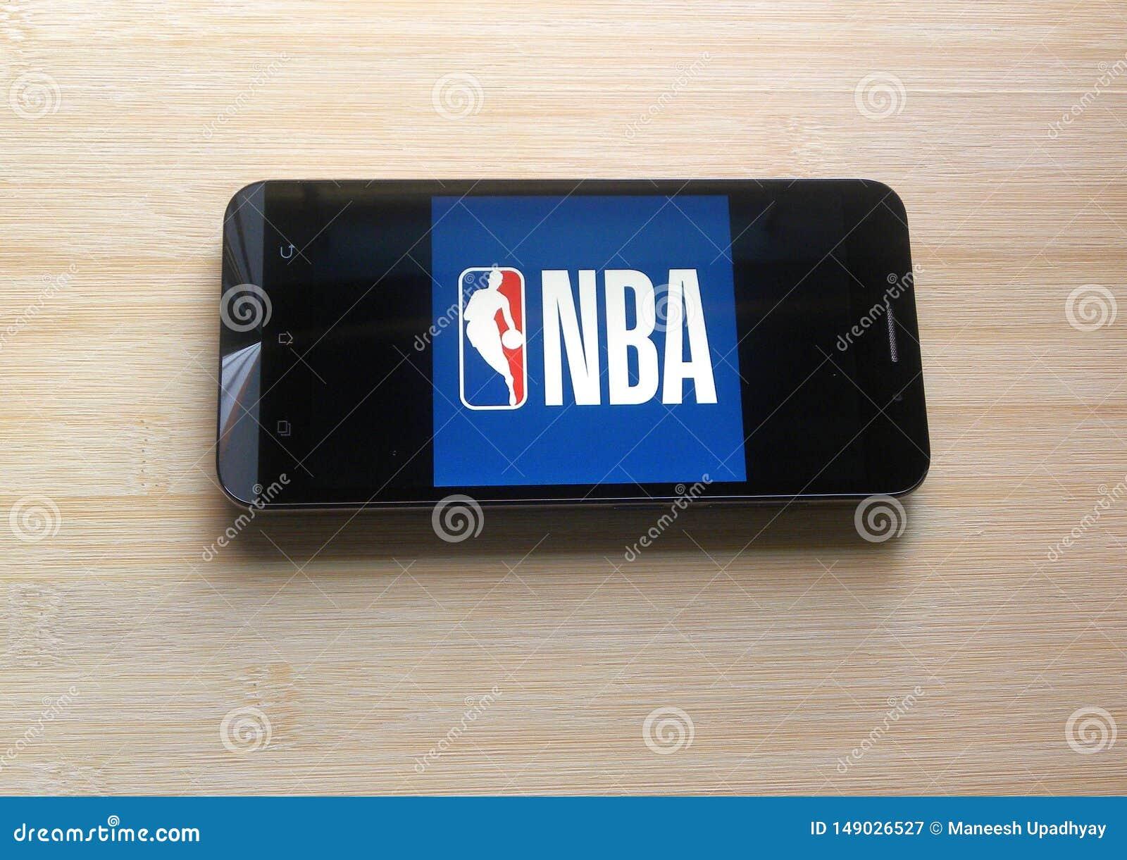 NBA-app p? smartphonen