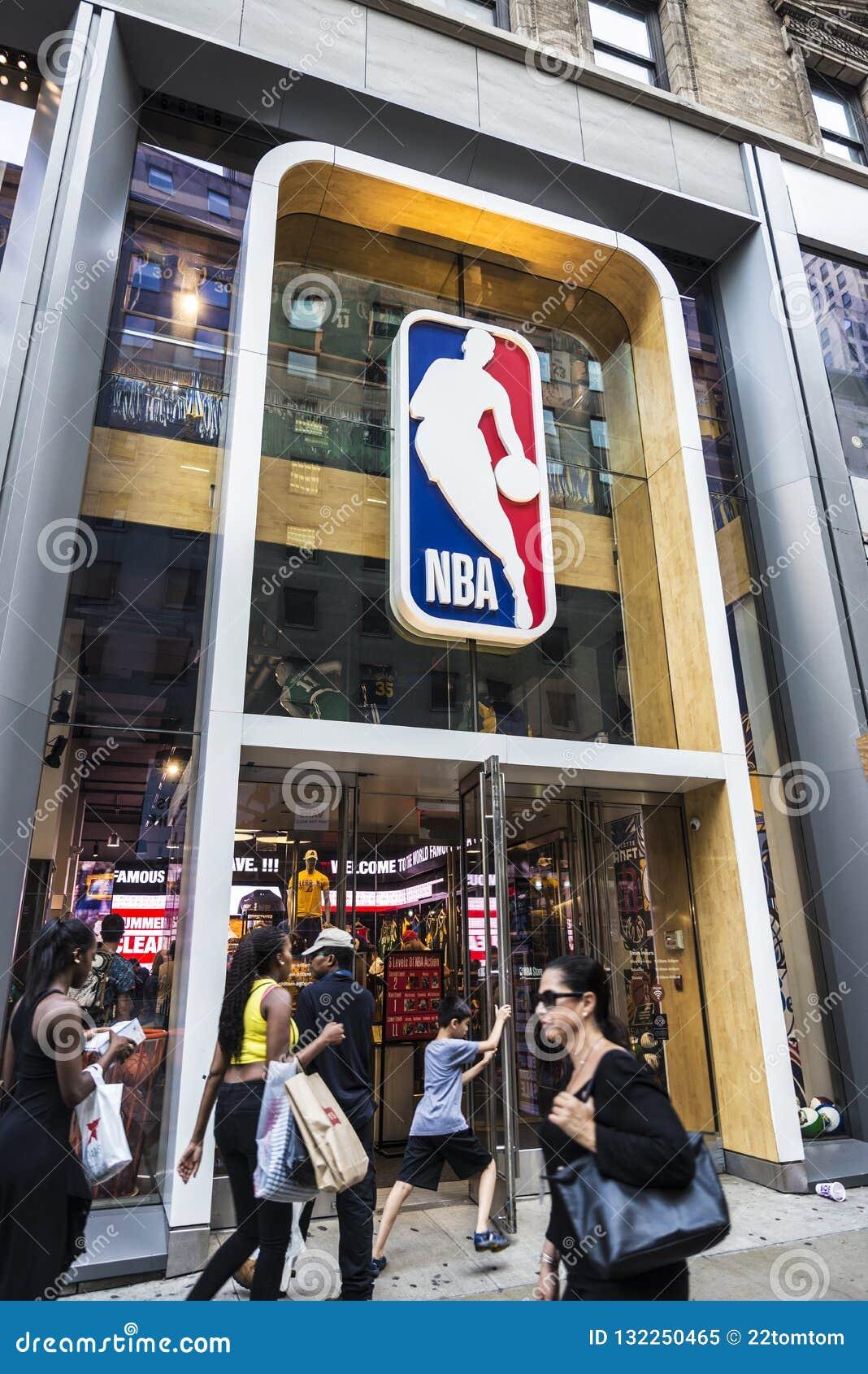 NBA-lager i New York City, USA