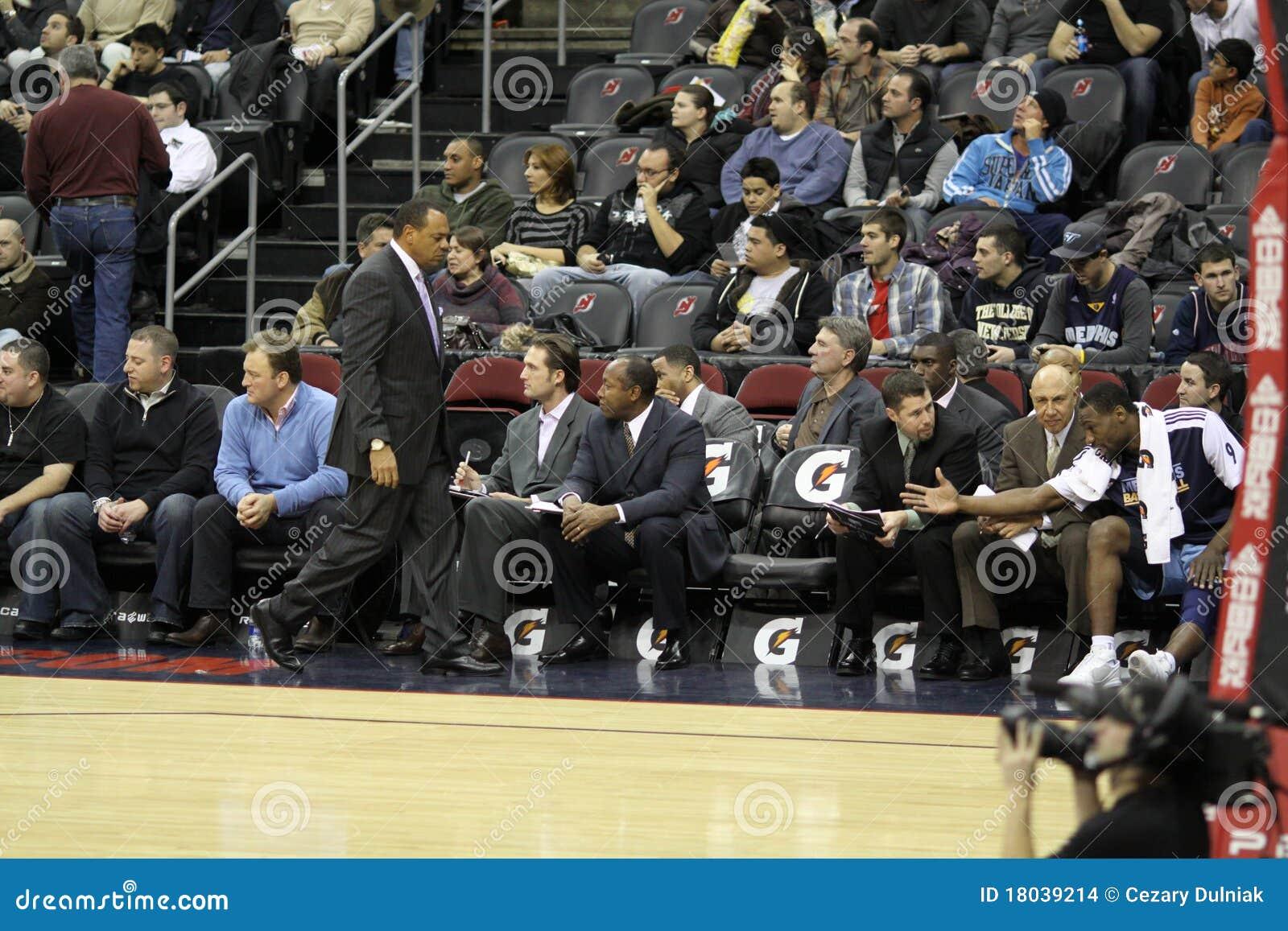0236ba9e46e NBA Memphis Grizzlies Coaches Editorial Stock Image - Image of ...