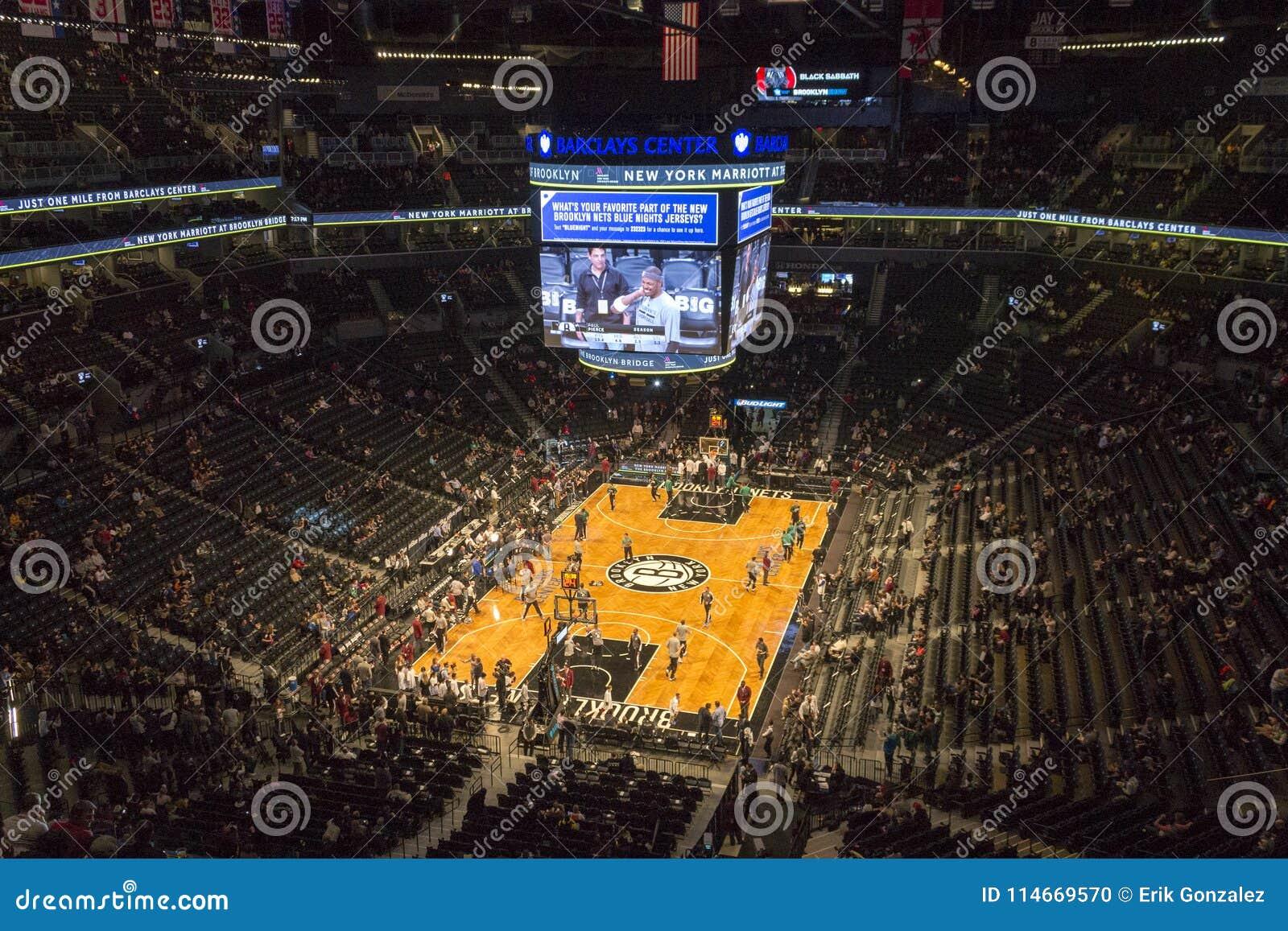 NBA-Spiel in Barclays-Center