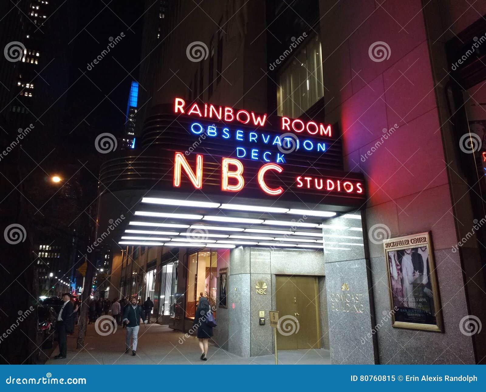 Nbc Studios Rainbow Room Observation Deck 30 Rockefeller Plaza Nyc Usa Editorial Image Image Of Couple Landmarks 80760815