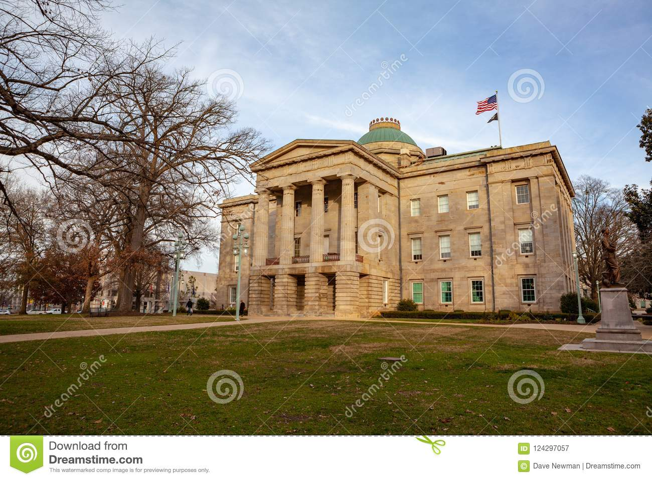 Nc Capital Building Raleigh North Carolina Stock Image Image Of