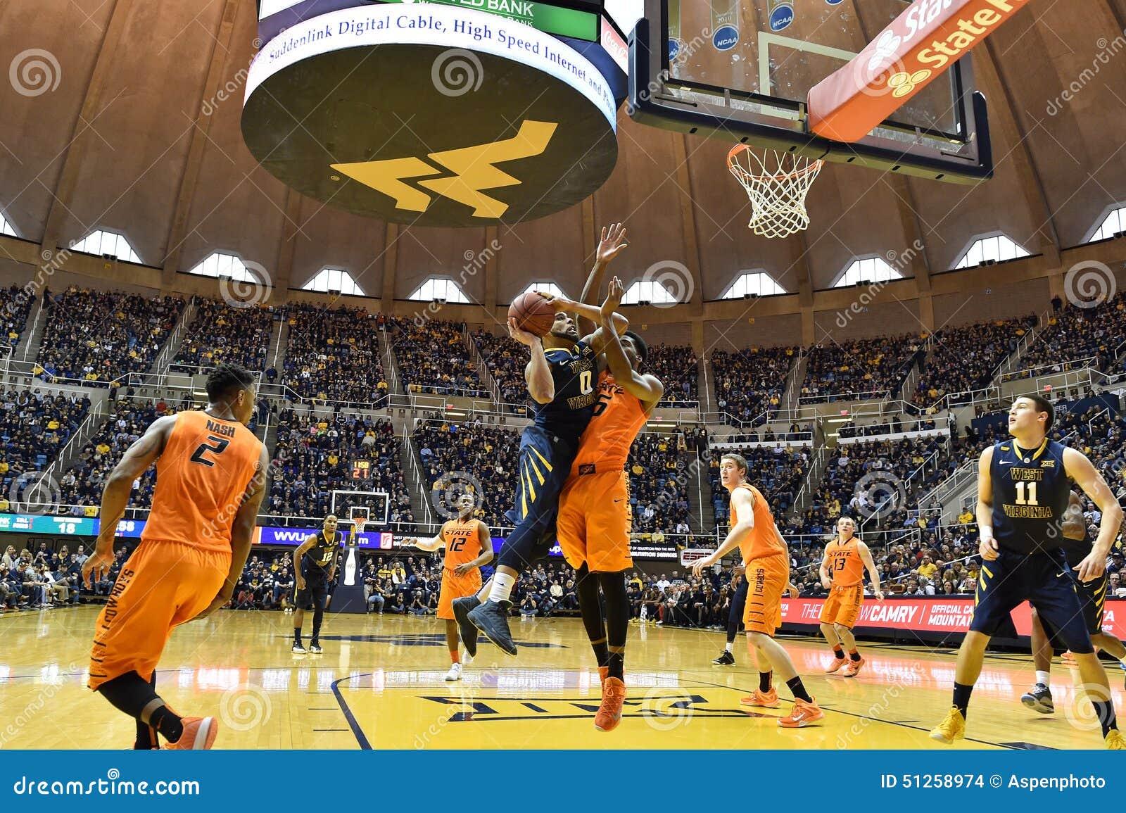2015 NCAA Basketbal - Staat WVU-Oklahoma