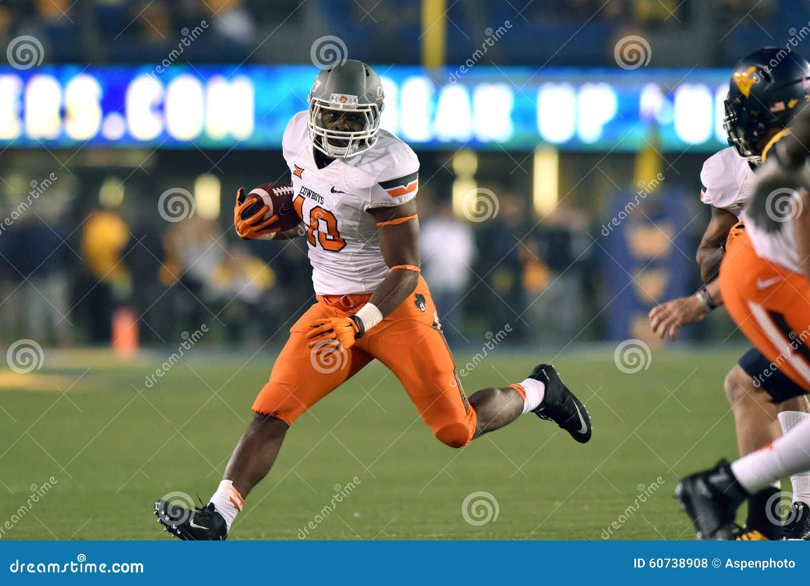 Morgantown (WV) United States  city photo : MORGANTOWN, WV OCTOBER 10: Oklahoma State Cowboys linebacker Devante ...