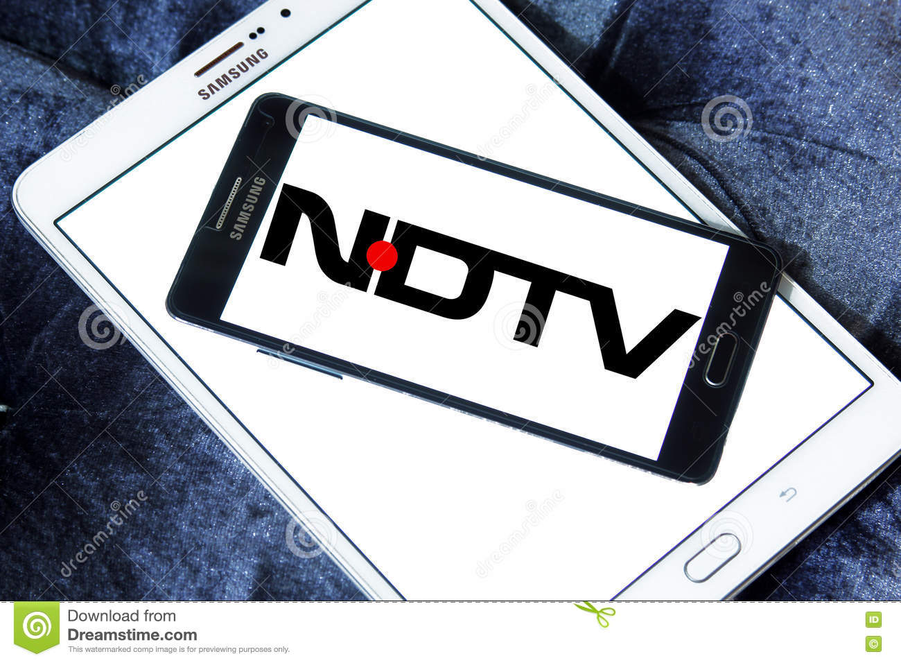 Nd tv logo editorial photo  Image of network, logo, mobile - 77073226