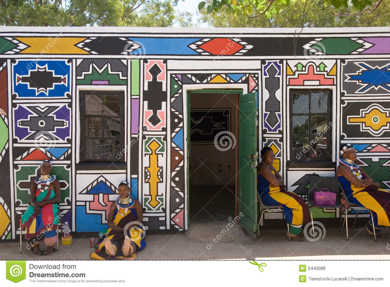 Ndebele Tribe Editorial Stock Photo Image 5440088