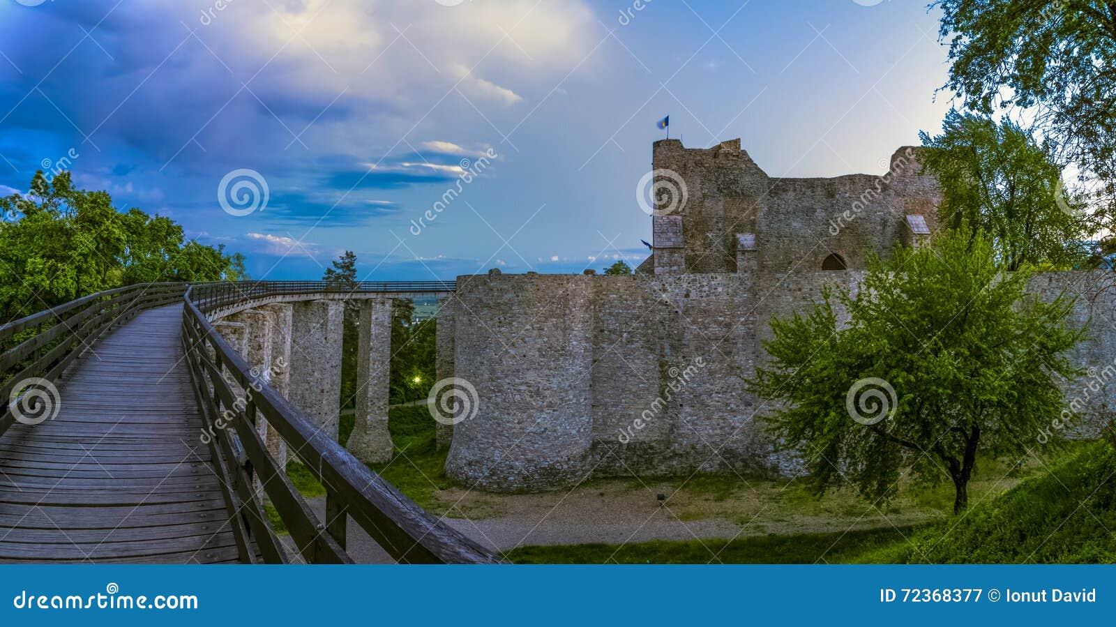 Neamt堡垒,罗马尼亚