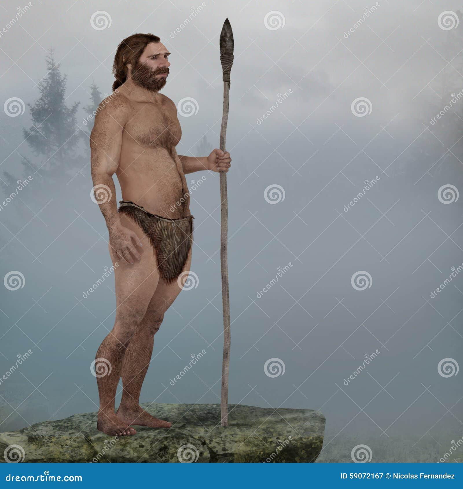 Neanderthal im Nebel