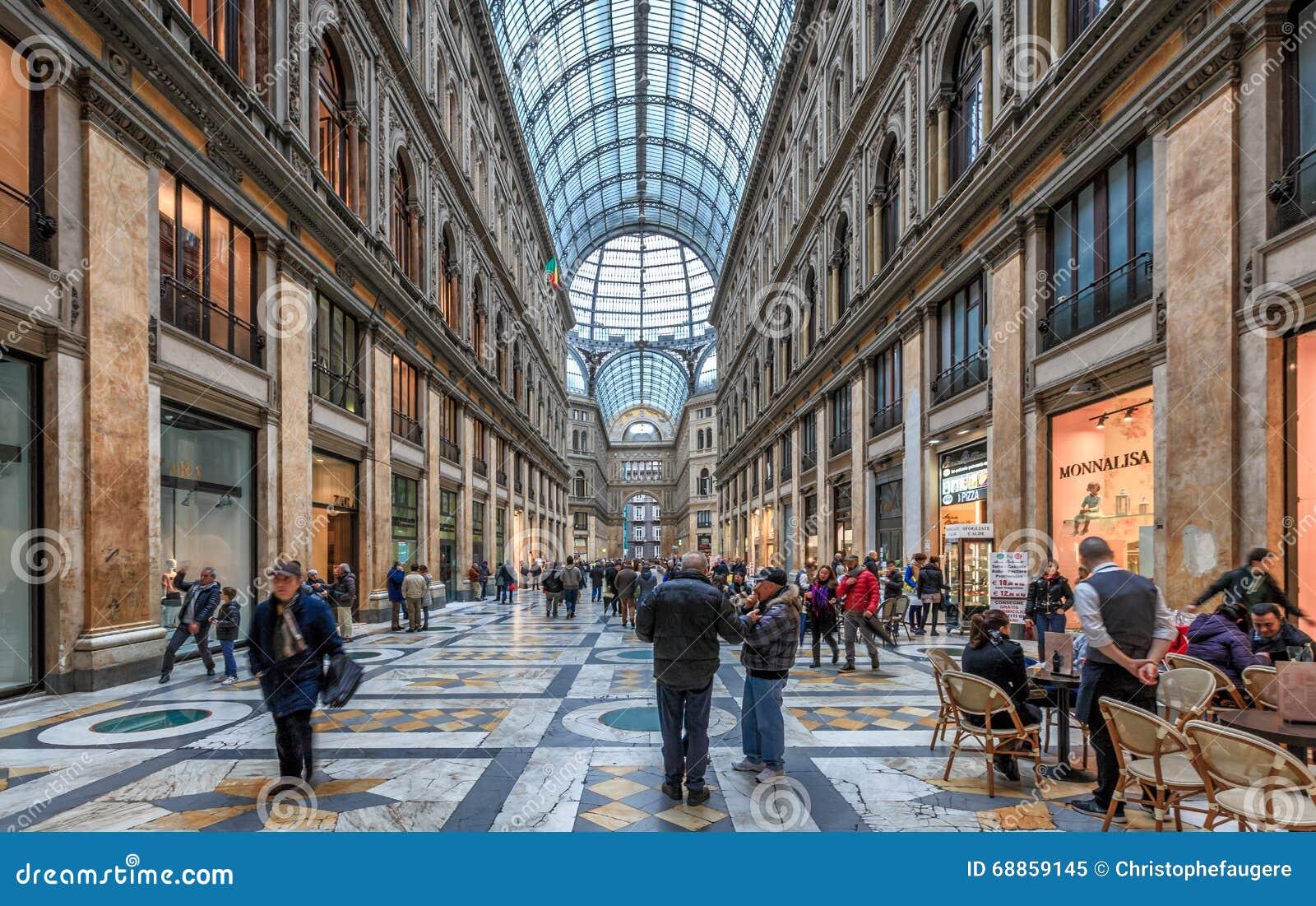 Neapel-Galleria Umberto I
