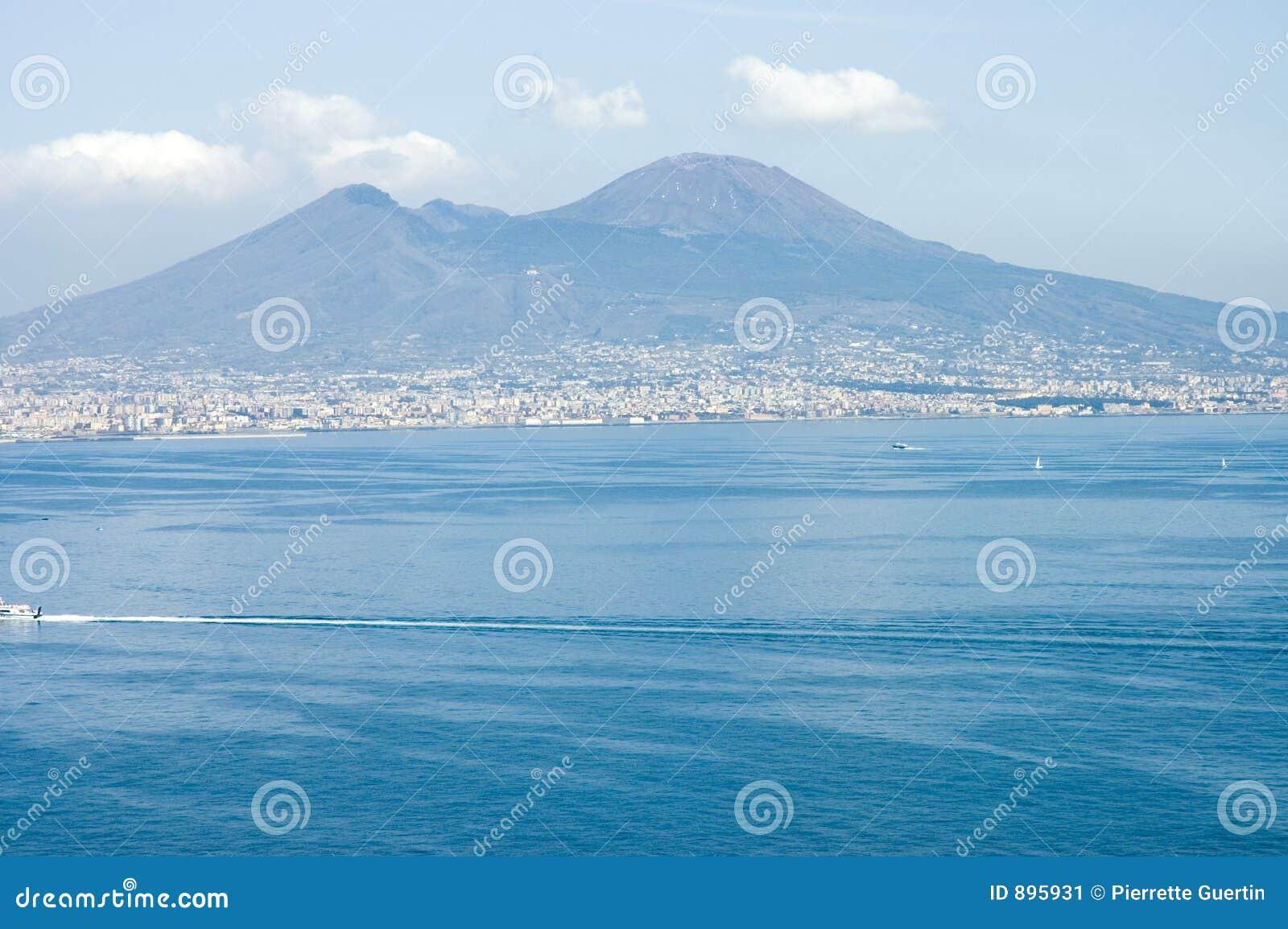 Neapol pożeglować bay