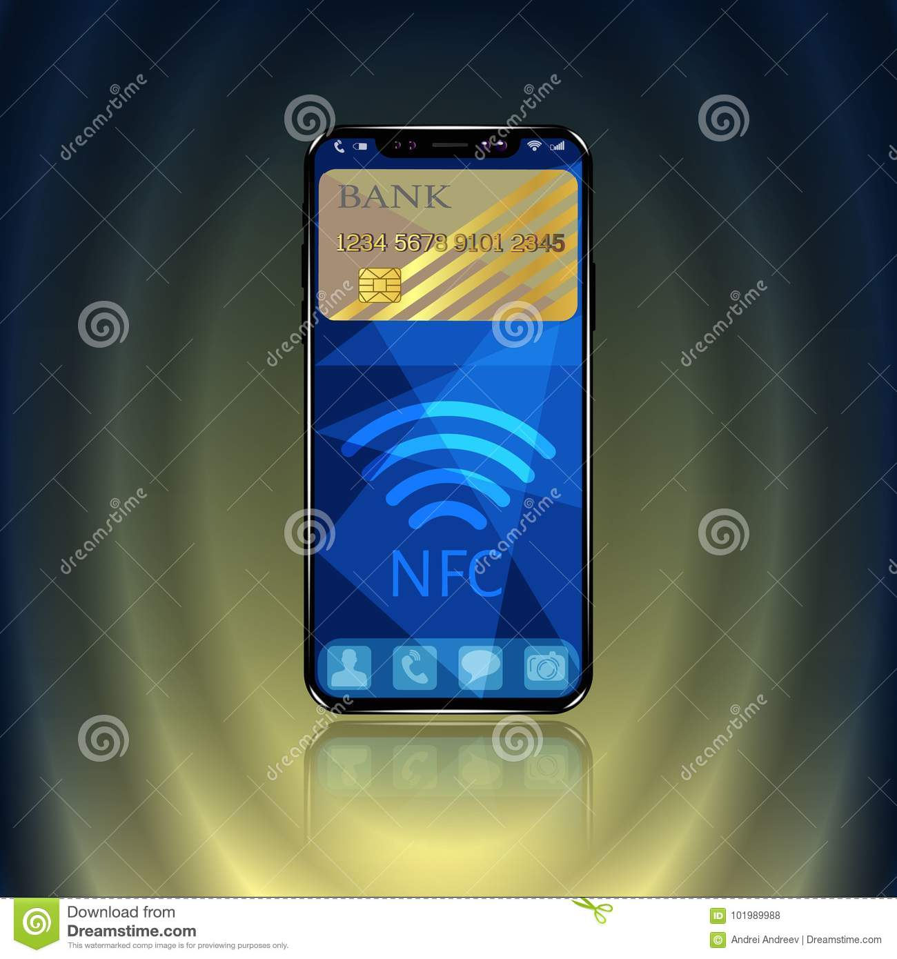 Near Field Communication, NFC Mobile Phone, NFC Payment With Mobile