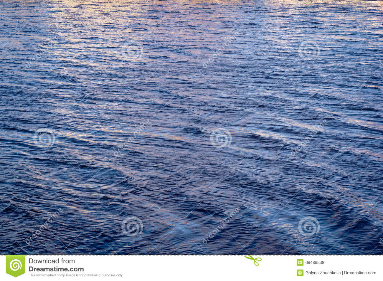 Nearly rose quartz and serenity color river water