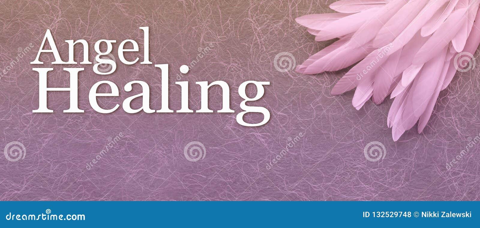 Angel Healing Website Banner Head
