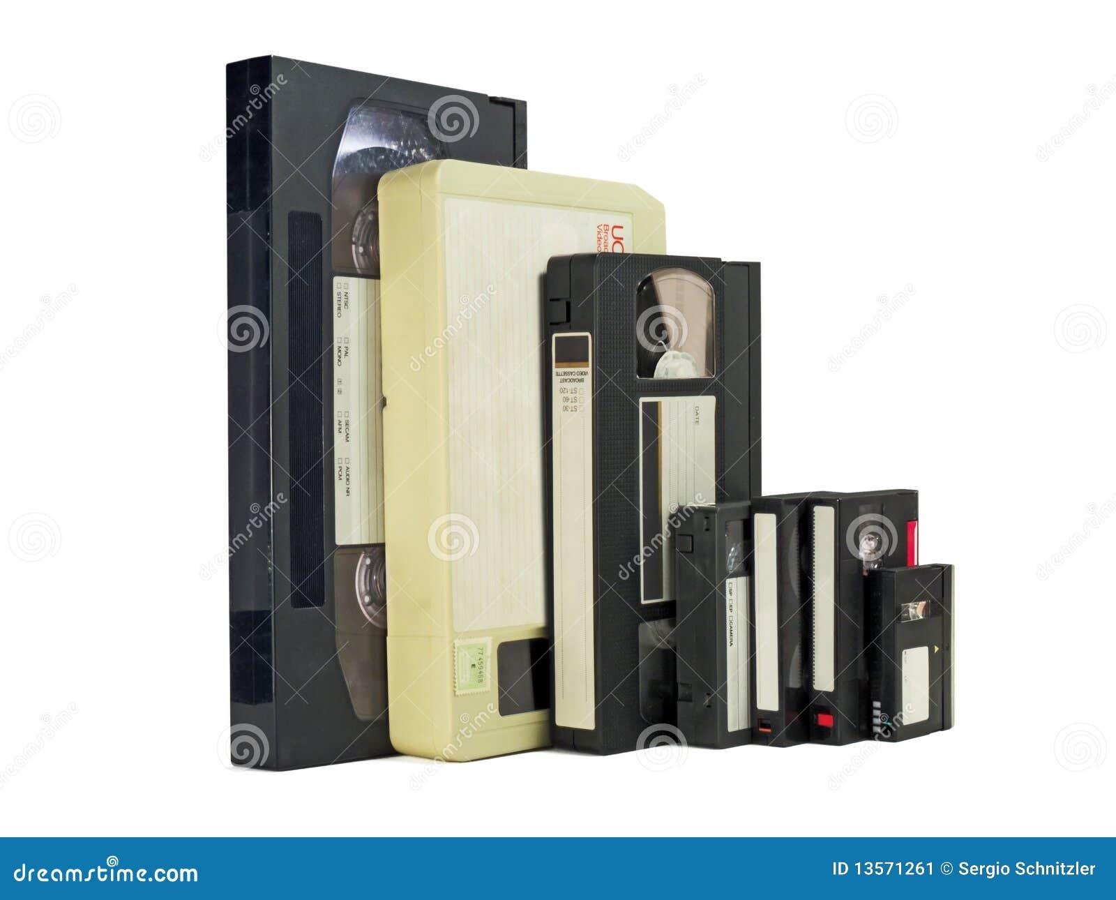 Nebeneinander Videobänder