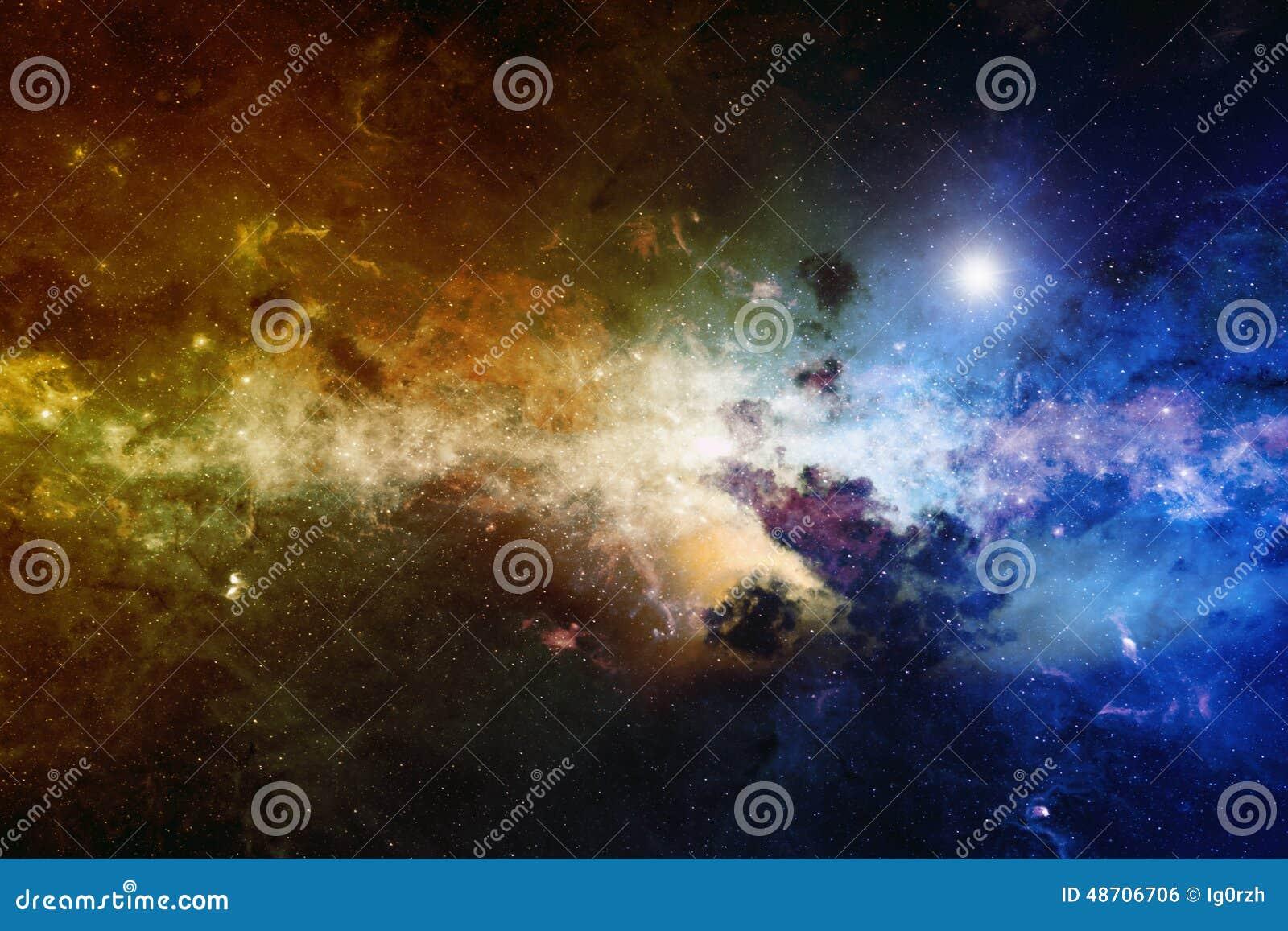 Nebula, deep space